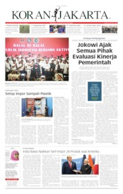 Cover Koran Jakarta 17 Juni 2019