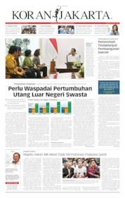 Koran Jakarta Cover 18 June 2019