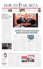 Cover Koran Jakarta 21 Juni 2019