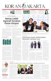 Cover Koran Jakarta 24 Juni 2019