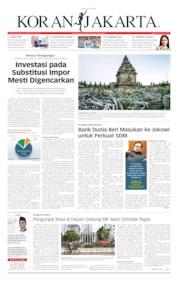 Cover Koran Jakarta 26 Juni 2019