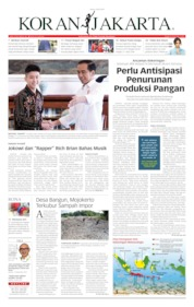 Cover Koran Jakarta 08 Juli 2019