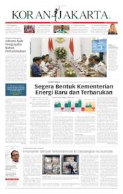 Cover Koran Jakarta 10 Juli 2019