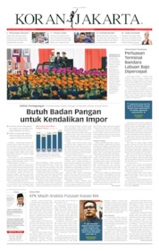 Cover Koran Jakarta 11 Juli 2019