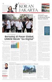 Cover Koran Jakarta 13 Juli 2019