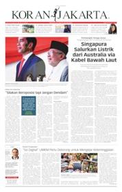 Cover Koran Jakarta 15 Juli 2019