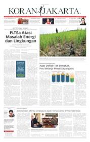 Cover Koran Jakarta 18 Juli 2019