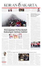 Koran Jakarta Cover 19 July 2019