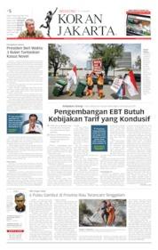 Koran Jakarta Cover 20 July 2019