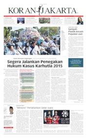 Koran Jakarta Cover 22 July 2019