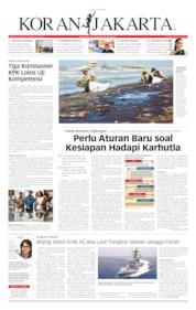 Cover Koran Jakarta 23 Juli 2019
