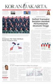 Cover Koran Jakarta 31 Juli 2019