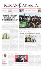 Cover Koran Jakarta 01 Agustus 2019
