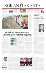 Cover Koran Jakarta 02 Agustus 2019