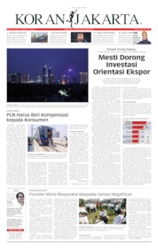 Cover Koran Jakarta 05 Agustus 2019