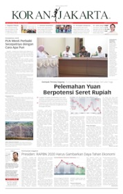 Cover Koran Jakarta 06 Agustus 2019