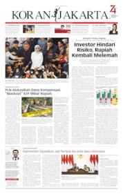 Cover Koran Jakarta 07 Agustus 2019