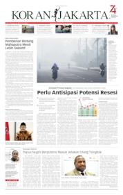 Cover Koran Jakarta 08 Agustus 2019