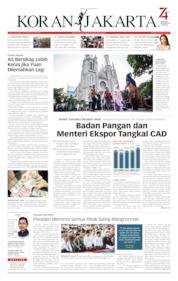 Cover Koran Jakarta 12 Agustus 2019