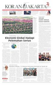 Cover Koran Jakarta 15 Agustus 2019