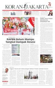 Cover Koran Jakarta 19 Agustus 2019