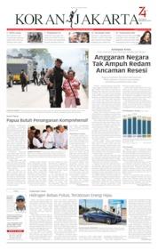 Cover Koran Jakarta 22 Agustus 2019