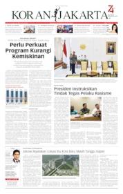 Koran Jakarta Cover 23 August 2019