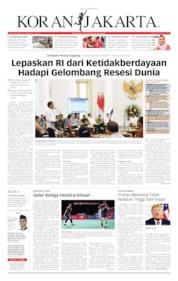 Koran Jakarta Cover 26 August 2019