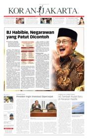Cover Koran Jakarta 12 September 2019