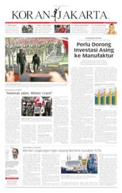Cover Koran Jakarta 13 September 2019