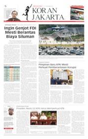 Koran Jakarta Cover 14 September 2019