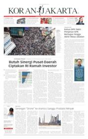 Koran Jakarta Cover 16 September 2019