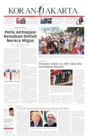Koran Jakarta Cover 17 September 2019