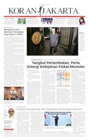 Koran Jakarta Cover 19 September 2019