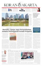 Koran Jakarta Cover 23 September 2019