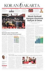Cover Koran Jakarta 04 Oktober 2019