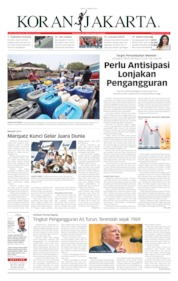 Cover Koran Jakarta 07 Oktober 2019