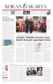 Cover Koran Jakarta 08 Oktober 2019