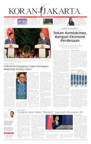 Cover Koran Jakarta 09 Oktober 2019
