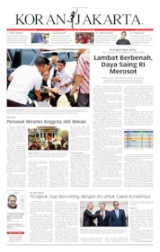 Cover Koran Jakarta 11 Oktober 2019