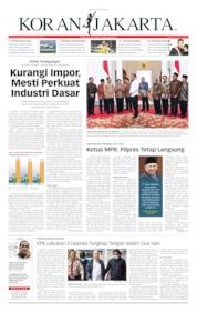 Cover Koran Jakarta 17 Oktober 2019