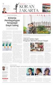 Cover Koran Jakarta 19 Oktober 2019