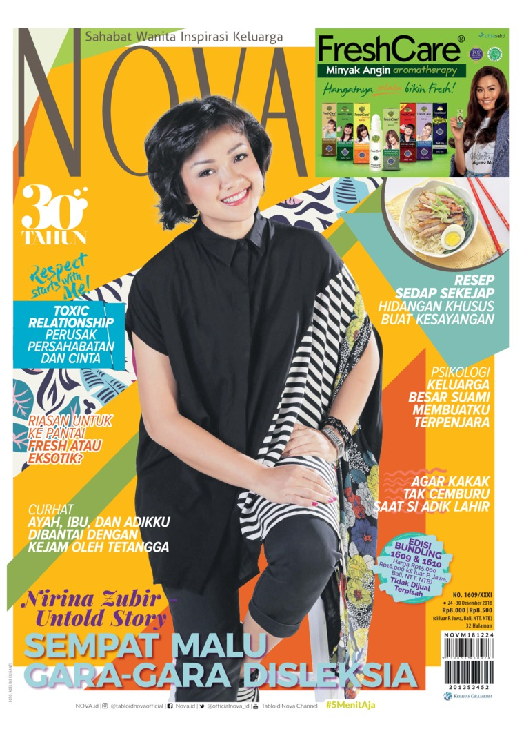 Majalah Digital NOVA ED 1609 Desember 2018