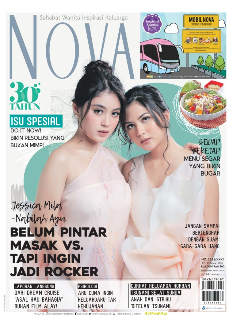 Majalah Digital NOVA ED 1611 Januari 2019