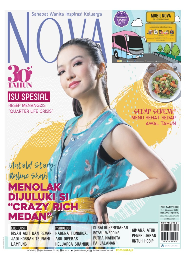 Majalah Digital NOVA ED 1612 Januari 2019