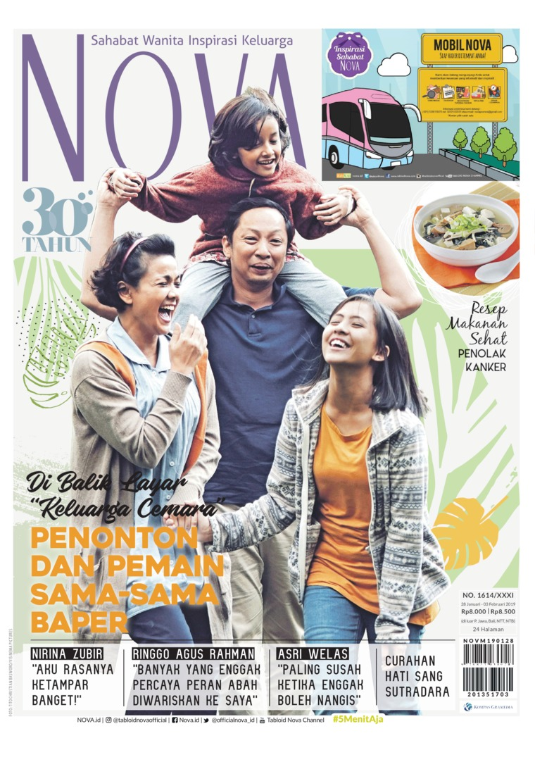 Majalah Digital NOVA ED 1614 Januari 2019