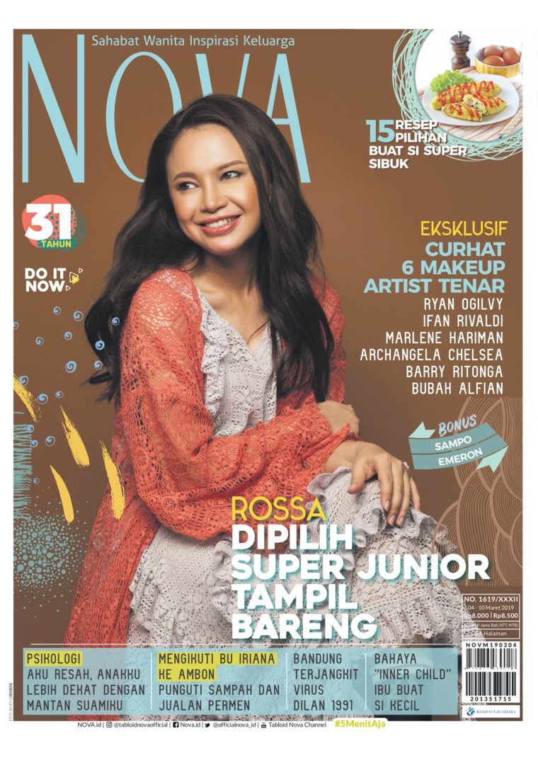 Majalah Digital NOVA ED 1619 Maret 2019