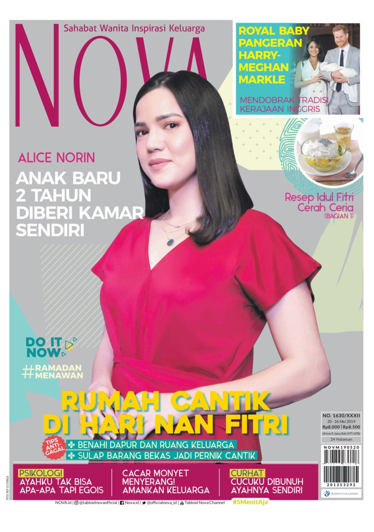 Majalah Digital NOVA ED 1630 Mei 2019