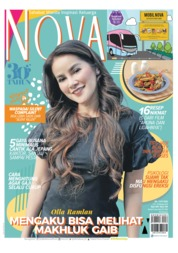 Cover Majalah NOVA ED 1597 Oktober 2018