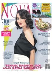 Cover Majalah NOVA ED 1599 Oktober 2018